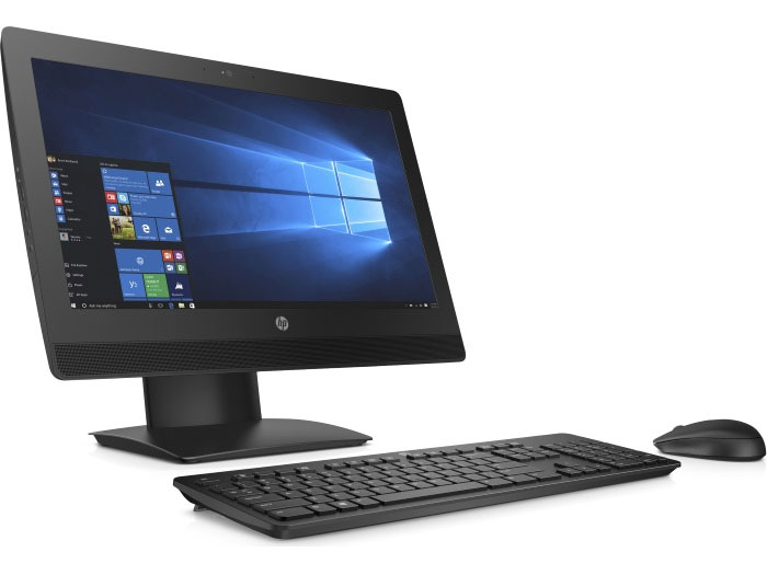 Моноблок HP ProOne 400 G3 AiO (2RT98ES) Celeron G3900T (2.6) / 4GB / 500GB / 20 HD+ AG / DVD-SM / WiFi / BT / Win10 Pro (Black) моноблок 20 hp proone 400 g2 v7q70es i5 6500t 2 5ггц 4gb 500gb 20 1600x900 intel hd graphics 530 dvd rw wi fi kb m win7 wi10 pro black