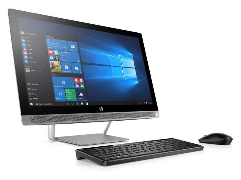 "Моноблок HP ProOne 440 G3 AiO (1QM13EA) i3-7100T (3.4) / 4GB / 1TB / 23.8"" FHD IPS / Int: Intel HD 630 / DVD-SM / DOS (Silver)"