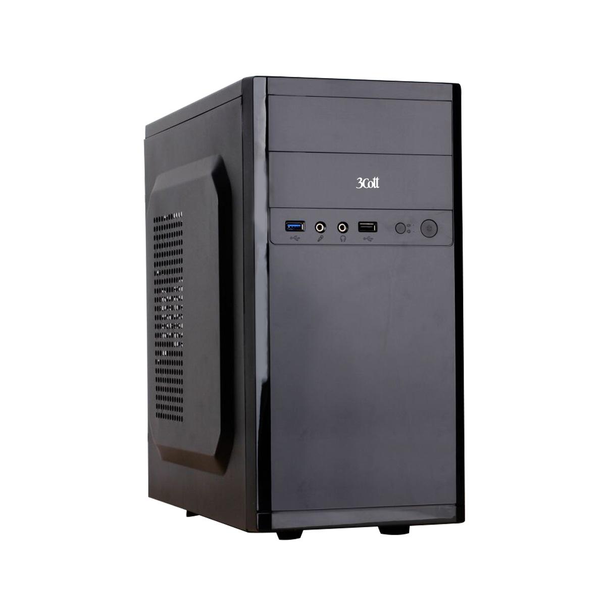 Компьютер Office 130 R (2018) >INTEL PENTIUM G4400, 4096 Mb, INTEL HD GRAPH. 510, 1000 HDD, NO DVD, OS