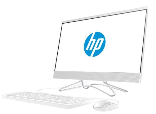 Моноблок HP 24 24-f0040ur  i5-8250U (1.6GHz)/4Gb/1TB+16GB Intel Optane/no DVD/23.8 (1920x1080)/WiFi/KB+mouse/Win10/Snow White