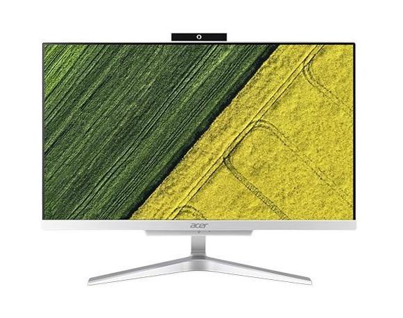 Моноблок Acer Aspire C22-865 (DQ.BBSER.001) i5-8250U(1.6) / 4Gb / 1Tb / 21.5 FHD IPS / HD Graphics 620 / Win10 Home / Silver nokotion laptop motherboard for acer aspire 7560 7560g hd 6470m ddr3 p7ye5 la 6991p mbbys02001 mb bys02 001
