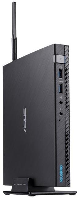 Системный блок Asus E520-B094M slim (90MS0151-M00940) i3 7100T / 4Gb / 256Gb SSD / HDG630 / Free DOS/ GbitEth / WiFi / Black системный блок