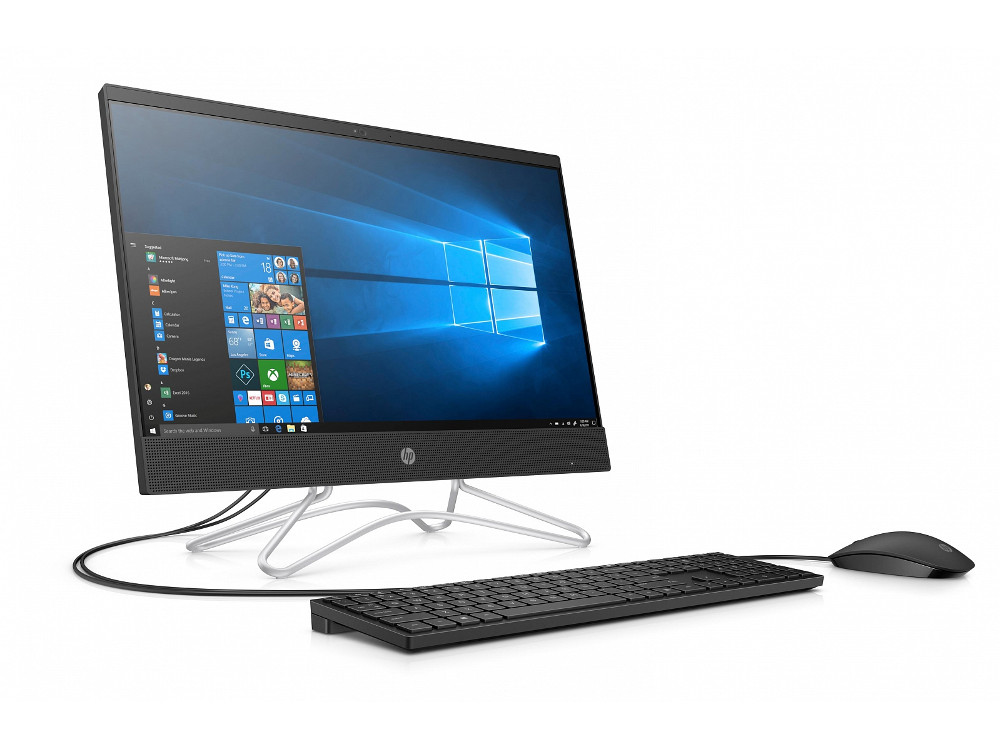 "Моноблок HP 22 22-c0005ur (4GX30EA) A6-9225 (2.6) / 4GB / 500GB / 21.5"" 1920x1080 / AMD R520 2GB / noODD / WiFi / Kb+M / Win10 (Jack Black)"