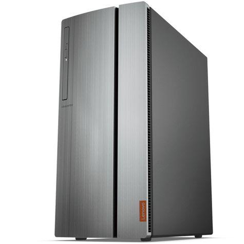 все цены на Системный блок Lenovo IdeaCentre 720-18ICB MT (90HT001NRS) i7-8700 (3.2)/16G/2T+256G SSD/NV GTX1050Ti 4G/DVDrw/Win10 silver онлайн