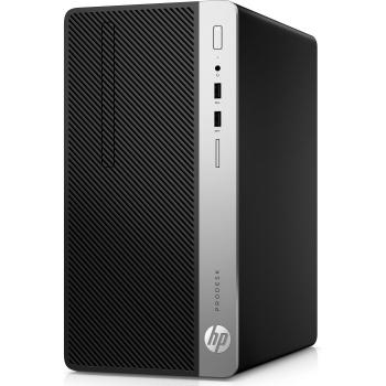 Системный блок HP ProDesk 400 G5 MT (4NU29EA) i3-8100/8G/256G SSD/UHDG 630/DVDRW/Win10Pro черный системный блок hp 280 g2 mt i3 6100 3 7ghz 4gb 1tb dvd rw win10pro клавиатура мышь черный w4a48es