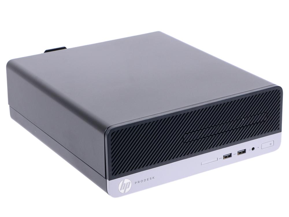 Системный блок HP ProDesk 400 G5 SFF (4CZ87EA) i3-8100/4G/1T/UHDG 630/DVDRW/Win10Pro черный системный блок hp 280 g2 sff y5p86ea черный