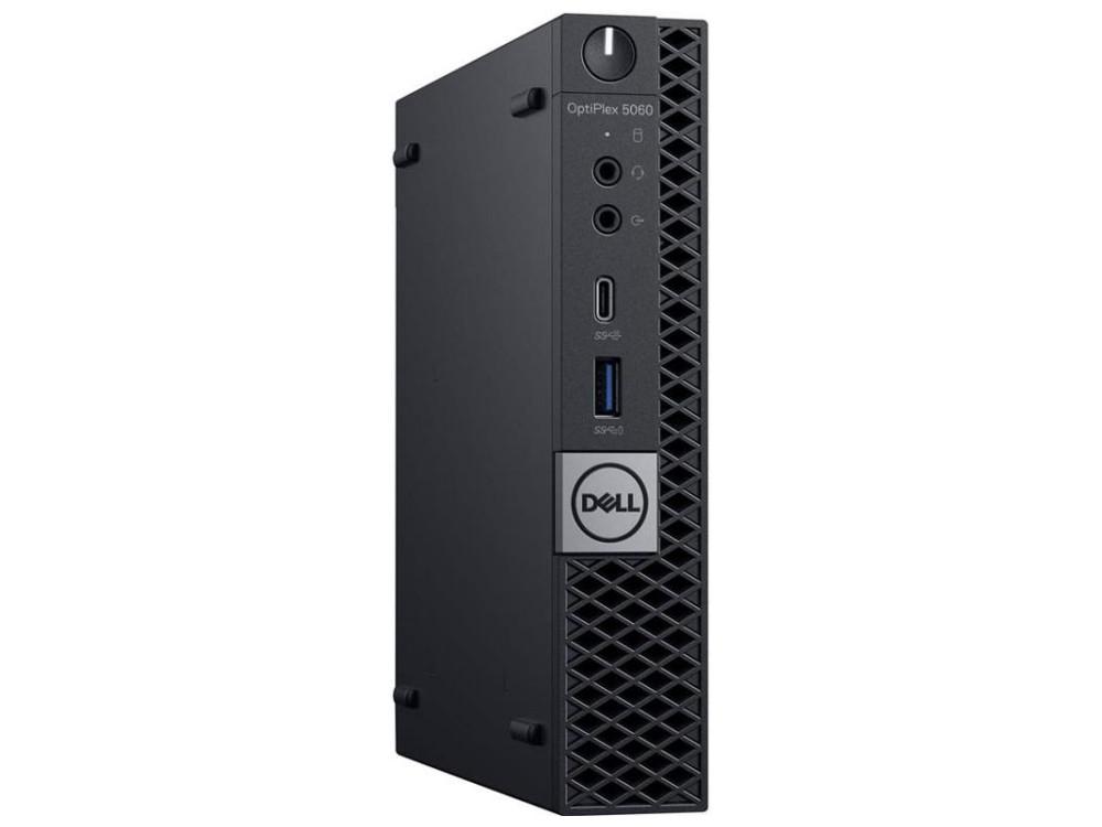 Системный блок Dell OptiPlex 5060 MFF (5060-7670) i5-8500T (2.1) / 8GB / 1TB / Int: Intel UHD 630 / noODD / Win10 Pro (Black) системный блок