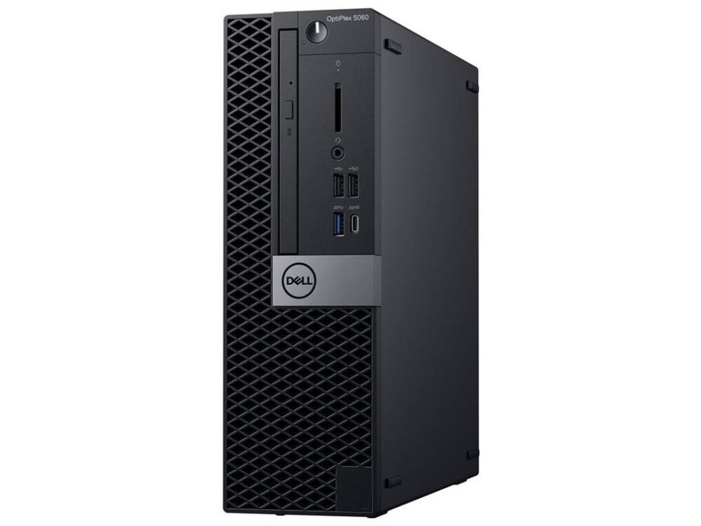 Системный блок Dell OptiPlex 5060 SFF (5060-7649) i5-8500 (3.0) / 8GB / 1TB / Int: Intel HD 630 / DVD-RW / Win10 Pro (Black) системный блок just home intel® core™ i5 7400 3 0ghz s1151 h110m r c si 8gb ddr4 2400mhz hdd sata 2tb 7200 32mb 6144mb geforce gtx 1060 atx 600w