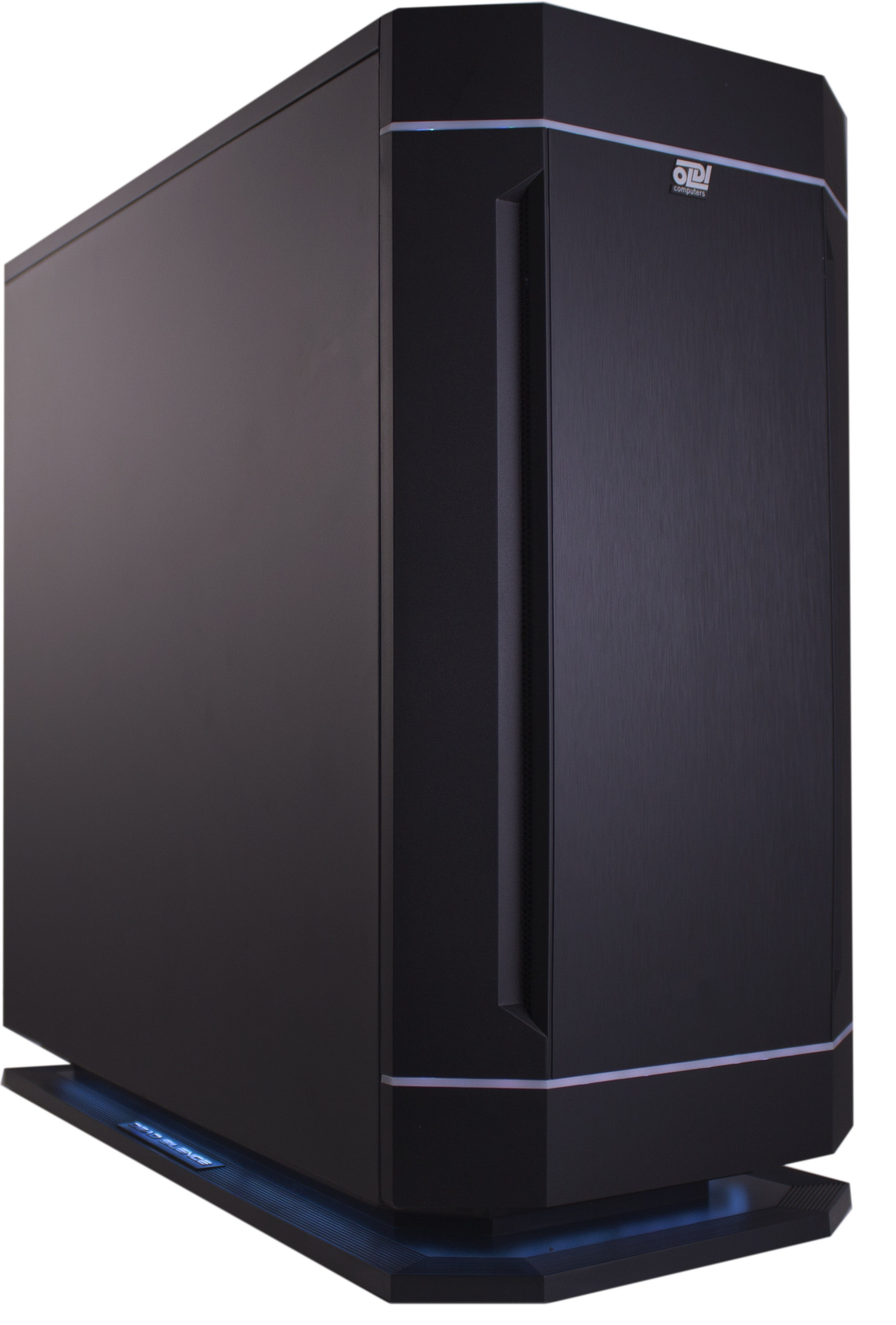 Компьютер OLDI COMPUTERS GRAPHIC STATION P5000 Системный блок Black/ i7-8700K/Z370/64Gb/512Gb SSD/2*4Tb/16Gb P5000/700W/Win 10 Pro 64-bit pro 2 pcs black