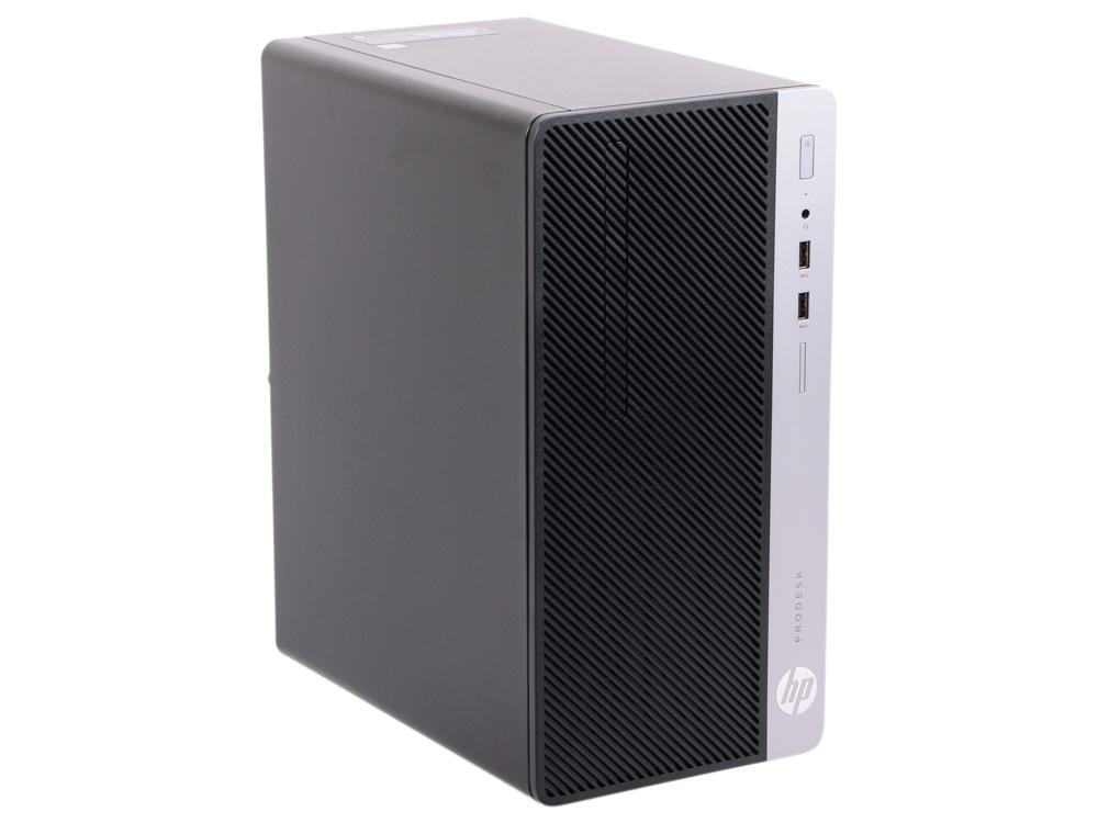 Системный блок HP ProDesk 400 G5 MT (4CZ34EA) Black / i3 8100 3.6GHz / 4GB / 500GB / встроенная UHDG 630 / DVD-RW / Win 10 Pro системный блок dell vostro 3900 mt i3 4170 3 7ghz 4gb 500gb hd4400 dvd rw win7pro win8 1pro клавиатура мышь черный 3900 7511