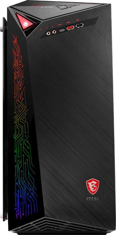 Компьютер MSI Infinite A 8RC-424RU MT (9S6-B91531-424) i7 8700/8G/2T/SSD128G/GTX1060 6G/DVDRW/W10/kb/m/черный msi gp72vr 7rfx 477ru leopard pro [9s7 179bb3 477] black 17 3 fhd i7 7700hq 8gb 1tb gtx1060 3gb dvdrw w10