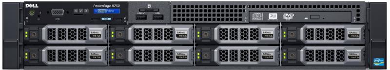 Сервер Dell PowerEdge R730 210-ACXU-131 сервер dell poweredge r230 210 aexb 050
