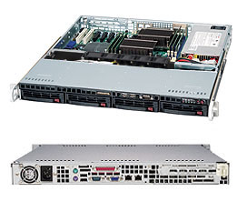 Сервер SERVER R11C2 V5 OLDI Computers 1U/E3-1220V5*1/noHDD Hot Swap/DDR4 ECC 8gb*1/Eth 1Gb*2/IPMI 2.0/600W (рейзер в комплекте)