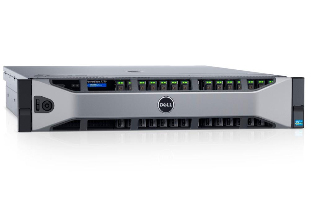 Сервер Dell R730 (2)xE5-2640v4, 4x32GB, 2x300Gb SAS 15k, 4x900GB SAS 15k, H730, DVDRW, 4x1GbE, iD8 Ent, (2)x1100W, Bezel/Rails/CMA, 3y PS NBD hard drive for 390 0330 540 7156 3 5 300gb 15k sas 6140 6540 3510 well tested working