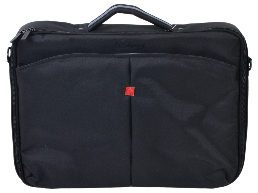 "Сумка для ноутбука Continent CC-02 до 15,6"" (нейлон, Grey, 41 x 31 x 9 см.)"