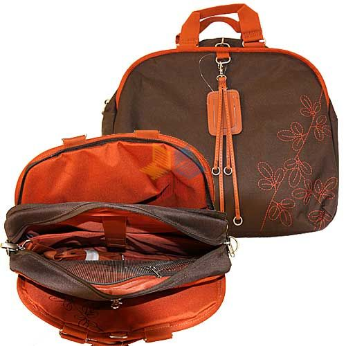 Фото - Сумка для ноутбука Samsonite женская 11A*041*13 до 15.4 LAPTOP SHOULDER BAG (нейлон, оранжевый, 41 х 32 х 20 см) danjue men handbag genuine leather male messenger bag classic business briefcase trendy 14inch laptop fashion shoulder man