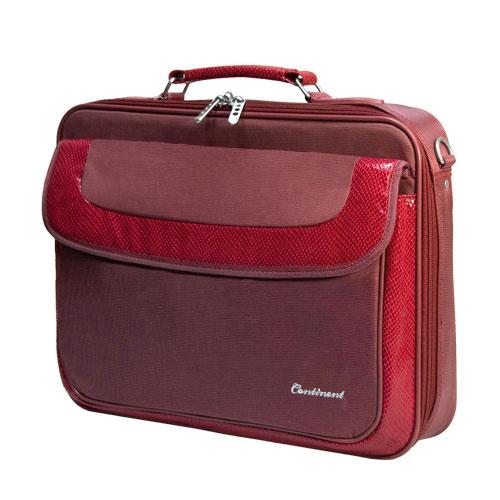 Сумка для ноутбука Continent CC-05 до 15,6 (нейлон, красный, 41 x 31 x 9 см)