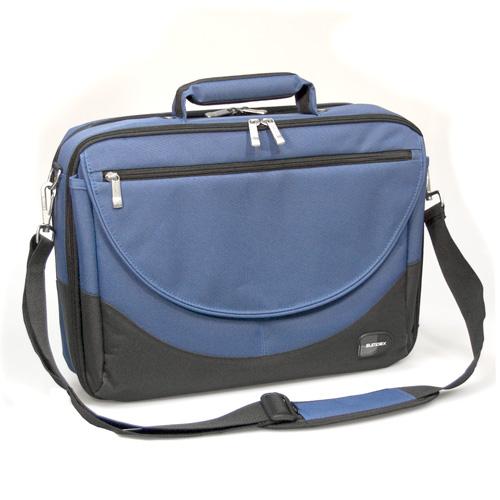 Сумка для ноутбука Sumdex PON-302NV Double Compartment Computer Brief 15.6 (нейлон/полиэстер, синий, 41,3 х 31,1 х 10,8 см) сумка для ноутбука sumdex pon 308bu netbook case до 10 нейлон полиэстер голубой 29 8 х 21 х 5 1 см