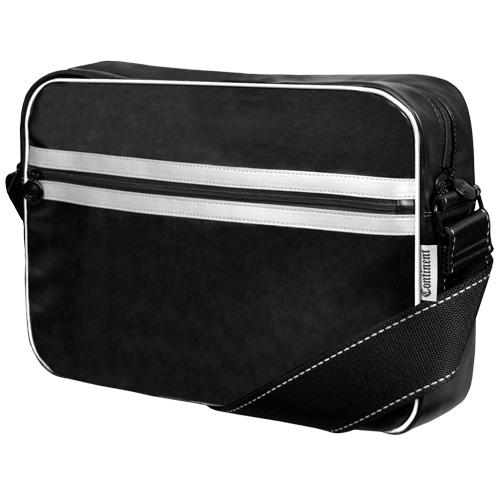 Сумка для ноутбука Continent CC-065 до 15,5 (Black/Silver, искуственная кожа, черный, 40 х 28 х 10 см.) подвеска для скейтборда 1шт ruckus trkrk3318 silver black 5 5 21 см