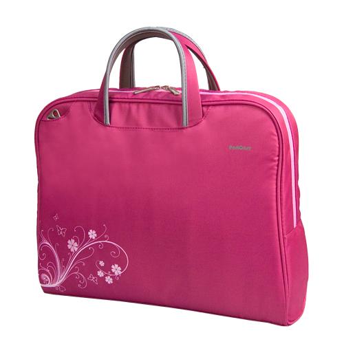 Сумка для ноутбука PortCase KCB-52 до 15,6-16 (Розовый, нейлон/полиэстер, 41 х 31 х 9 см.) gel100601 universal silicone car key cover for vw more black
