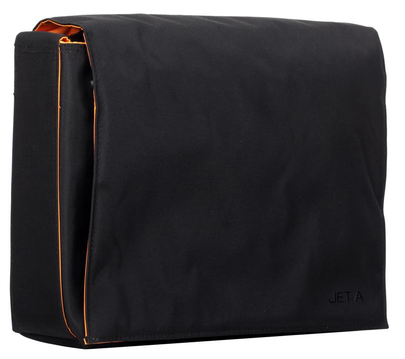 Сумка для ноутбука Jet.A LB13-11 до 13,3 (Черный, качественный нейлон/полиэстер, современный дизайн, съемный ремень, SIZE 340*100*260мм)