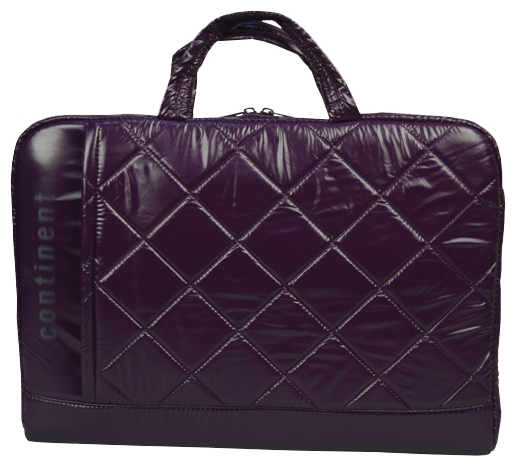 Сумка для ноутбука Continent CC-075 до 15,6 (полиэстр/пвх, Violet, 38,5 x 25,5 x 3,8 см.) аксессуар сумка 15 6 continent cc 05 beige