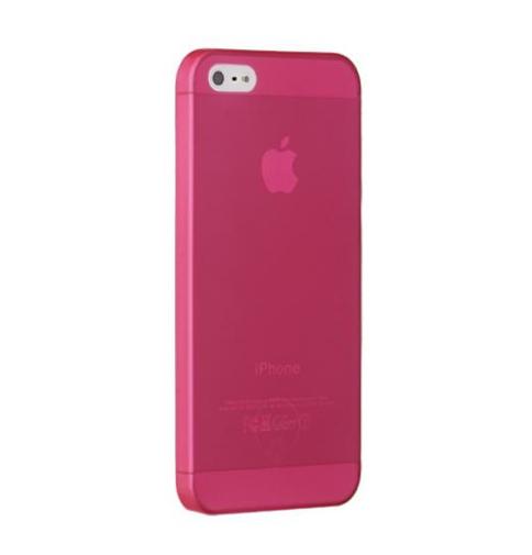 Чехол пластиковый Ozaki O!coat 0.3 Jelly (OC533RD) для iPhone 5, red/красный накладка ozaki o coat 0 4 jelly для iphone 7 plus прозрачный