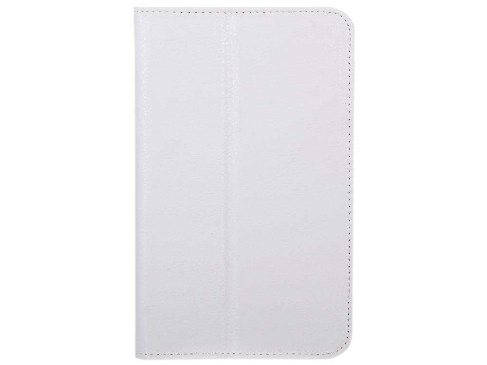 Чехол IT BAGGAGE для планшета Samsung Galaxy Tab3 7 искус. кожа белый ITSSGT7302-0 чехол it baggage для планшета samsung galaxy tab4 10 1 hard case искус кожа бирюзовый с тонированной задней стенкой itssgt4101 6