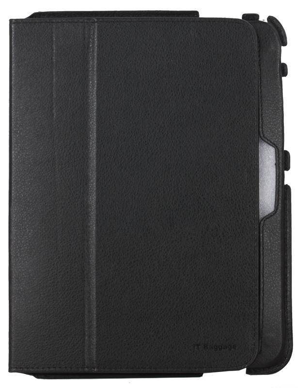 Чехол-книжка для планшета Samsung Galaxy Tab4 10.1 IT BAGGAGE Slim Black флип, искусственная кожа