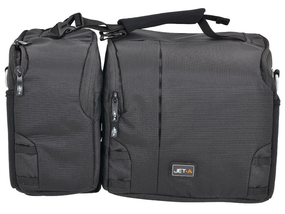 Сумка для фотоаппарата Jet.A CB-12 (36*14*22) Черный/желтый интерьер (Качественный нейлон/полиэстр) сумка для фотоаппарата vanguard vojo 10 black