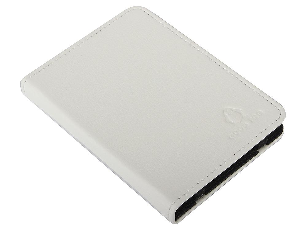 Обложка для PocketBook 515 GoodEgg Lira кожа белый GE-PB515LIR2200