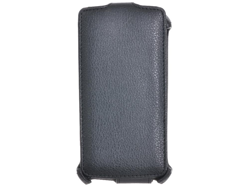 Чехол - книжка iBox Premium для Philips W7555 (Black) Черный