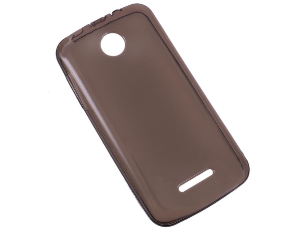 Чехол  IT BAGGAGE для смартфона  LENOVO A390 силикон черный прозрачный (ITLNA390T-1)