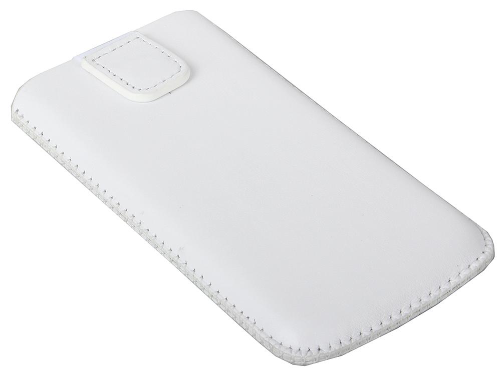 Чехол TF POC TF071402 кожа универсальный, размер 124*59*11 , белый