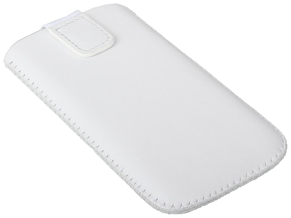 Чехол TF POC TF011402 кожа универсальный, размер 115*59*11, белый