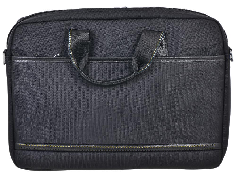 Сумка для ноутбука Continent CC-045 Black до 15,6-16 (черный, нейлон/пвх, 41,5 x 30,5 x 8 см.) сумка для ноутбука 15 continent cc 012 нейлон черный