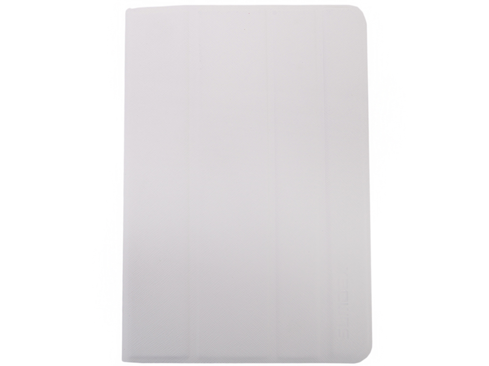 Чехол SUMDEX TCH-704 WT Чехол для планшета 7-7,8 универсальный Белый чехол универсальный 7 7 8 sumdex tch 704vt металлические уголки фиолетовый