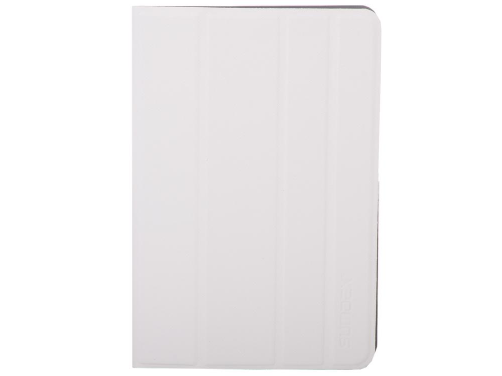 Чехол SUMDEX TCC-700 WT Чехол для планшета 7-7,8 универсальный Белый чехол универсальный 9 7 sumdex tcc 970wt силиконовые уголки белый