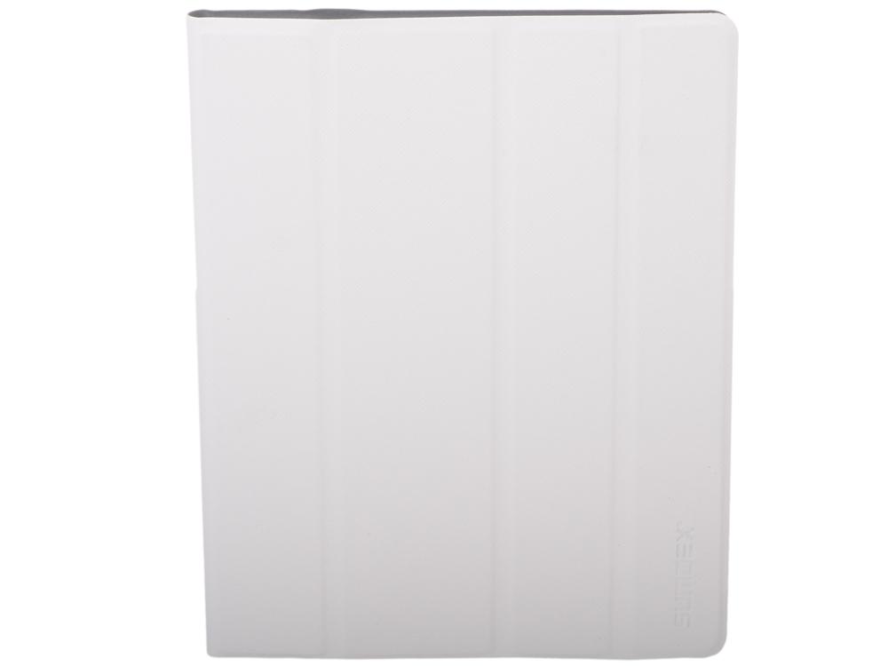 Чехол SUMDEX TCH-974 WT Чехол для планшета 9,7 универсальный  Белый чехол универсальный 7 7 8 sumdex tch 704vt металлические уголки фиолетовый