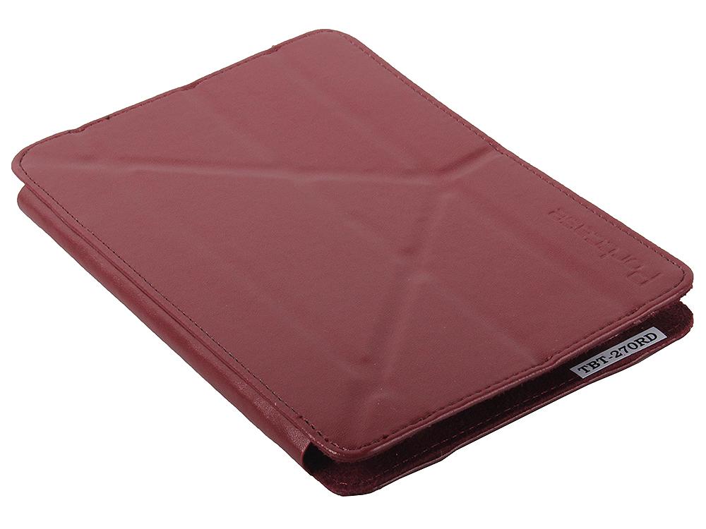 Чехол-книжка универсальный 7 PORTCASE TBT-270 RD Red флип, кожзаменитель, пластик чехол книжка red line book type для xiaomi redmi 5 black