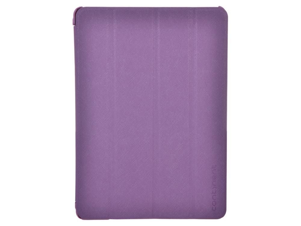 Чехол-книжка для iPad Air Continent IP-50 VT Purple флип, искусственная кожа, пластик gangxun blackview a8 max корпус высокого качества кожа pu флип чехол kickstand anti shock кошелек для blackview a8 max