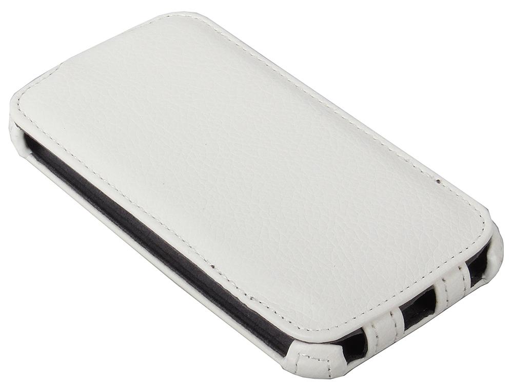 Чехол - книжка iBox Premium для Samsung i9500 Galaxy S4 (белый)