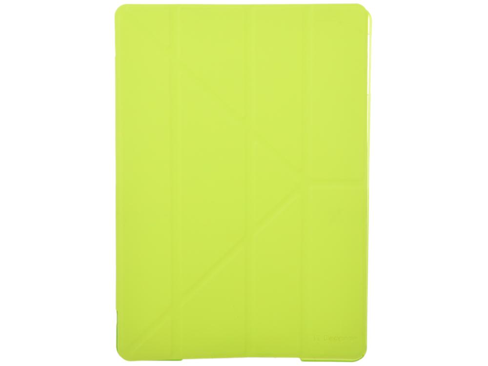 купить Чехол IT BAGGAGE для планшета iPad Air 9.7 ITIPAD501-5 hard case искус. кожа лайм с тонированной задней стенкой недорого