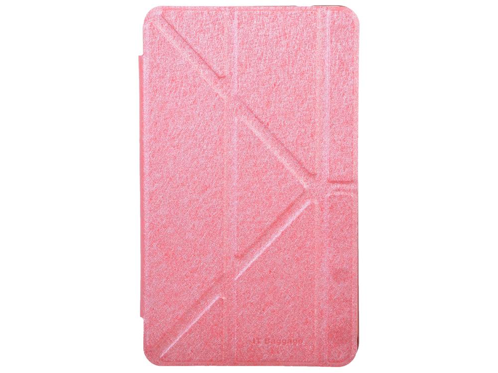 Чехол IT BAGGAGE для планшета SAMSUNG Galaxy Tab4 8 hard case искус. кожа красный с тонированной задней стенкой ITSSGT4801-3 it baggage чехол для samsung galaxy tab e 8 black