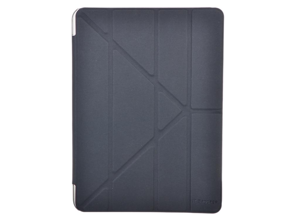 Чехол IT BAGGAGE для планшета SAMSUNG Galaxy Tab4 10.1 hard case искус. кожа черный с прозрачной задней стенкой ITSSGT4101-1 чехол для планшета samsung flat screen protector p7500 p7510 p5100 p5110 n8000 n8010