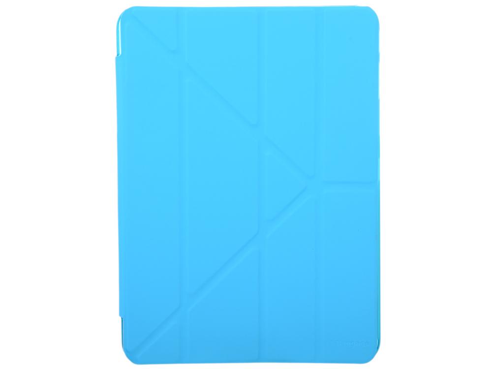 Чехол IT BAGGAGE для планшета SAMSUNG Galaxy Tab4 10.1 hard case искус. кожа синий с тонированной задней стенкой ITSSGT4101-4 чехол it baggage для планшета samsung galaxy tab4 8 hard case искусственная кожа красный itssgt4801 3
