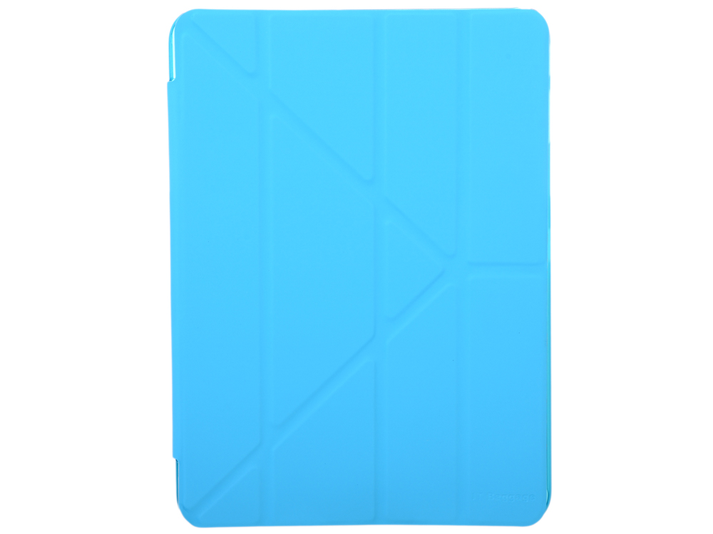 Чехол IT BAGGAGE для планшета SAMSUNG Galaxy Tab4 10.1 hard case искус. кожа синий с тонированной задней стенкой ITSSGT4101-4 it baggage hard case чехол для samsung galaxy tab a 8 0 sm t350n sm t355n black
