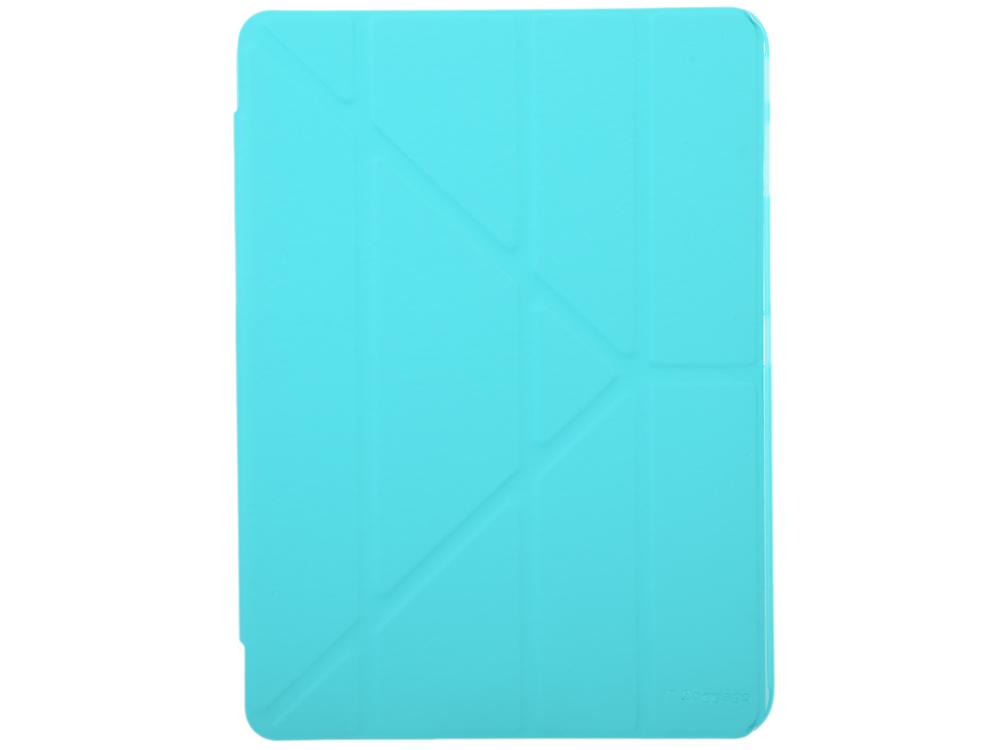Чехол IT BAGGAGE для планшета SAMSUNG Galaxy Tab4 10.1 hard case искус. кожа бирюзовый с тонированной задней стенкой ITSSGT4101-6 чехол it baggage для планшета samsung galaxy tab4 8 hard case искусственная кожа красный itssgt4801 3