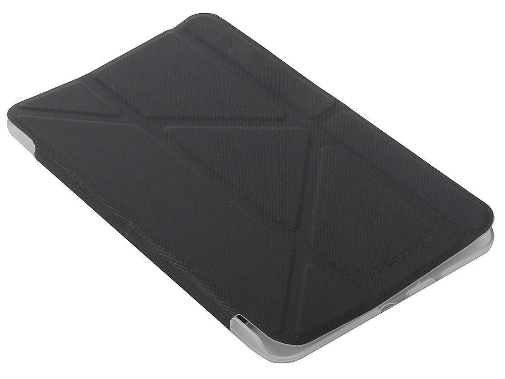 Чехол IT BAGGAGE для планшета SAMSUNG Galaxy Tab4 7 hard case искус. кожа черный с прозрачной задней стенкой ITSSGT4701-1 чехол it baggage для планшета samsung galaxy tab4 10 1 hard case искус кожа бирюзовый с тонированной задней стенкой itssgt4101 6
