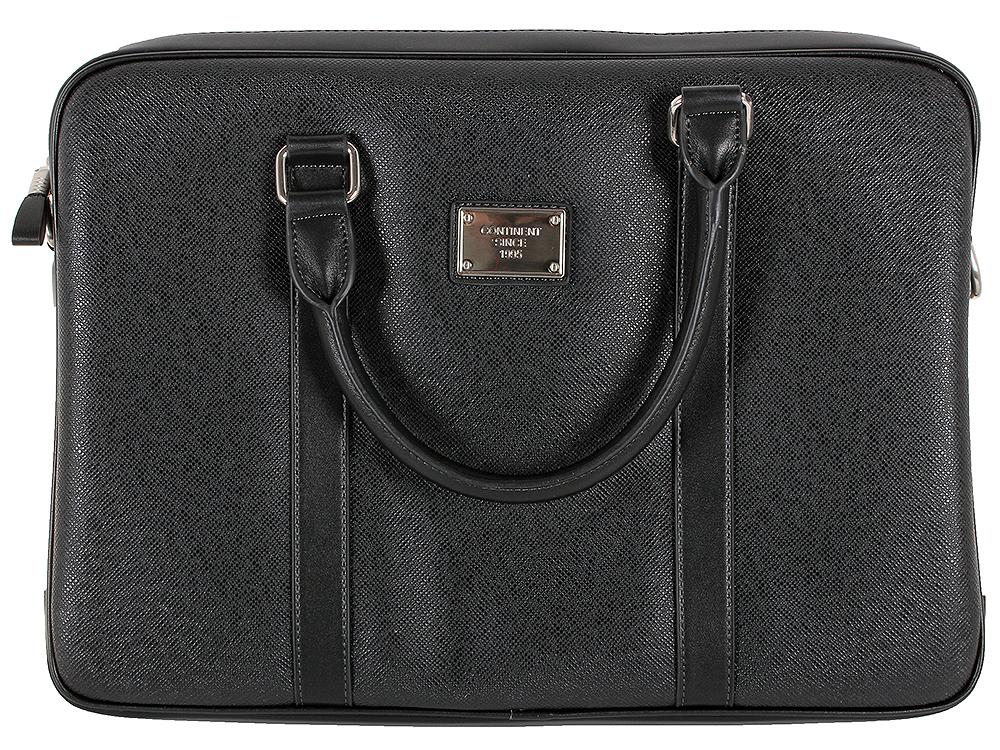 Сумка для ноутбука Continent CM-122 Black до 15.6 (Черный, эко кожа) цена